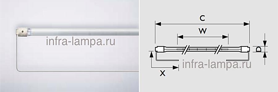 Standard lamps U-clip